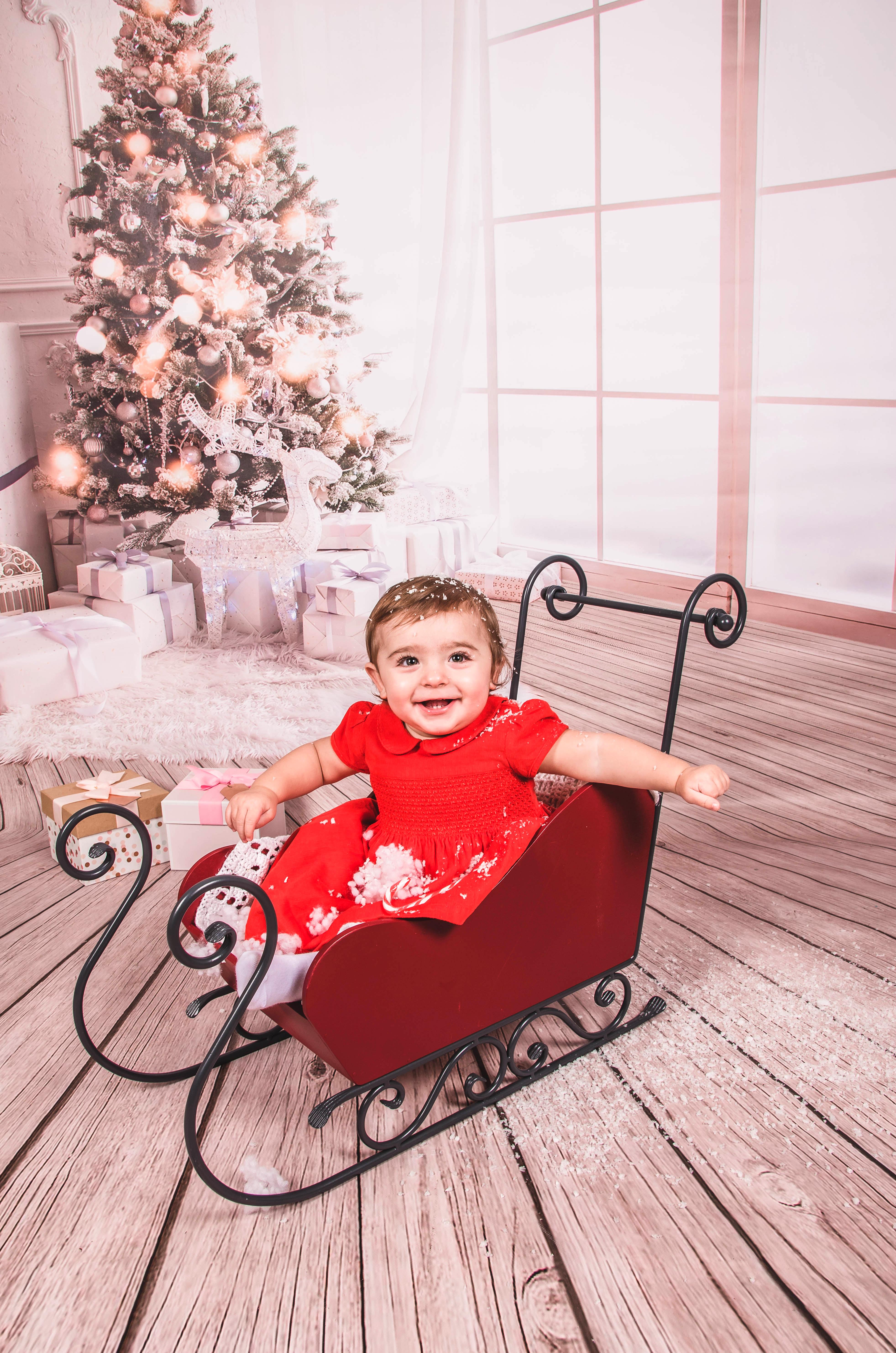 Eva's Christmas Photoshoot